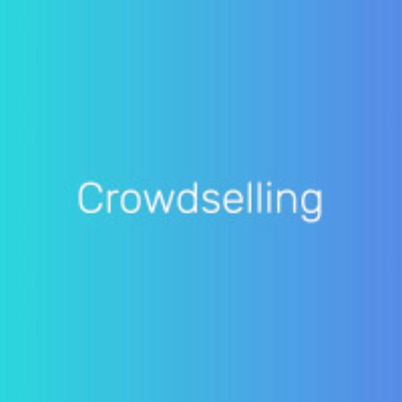 Crowdselling