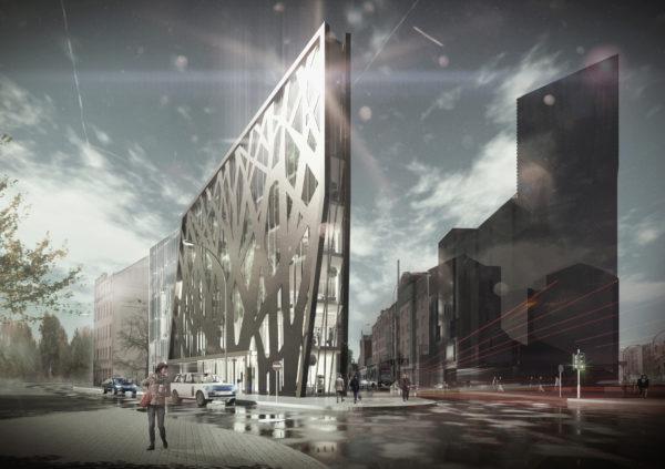 Office building, Miera street 1, Riga, Latvia, Design proposal