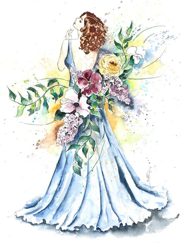 Wedding illustrations